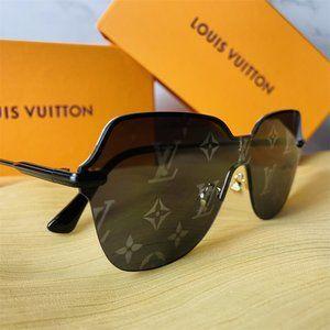 🌺NWTLV Women's  Fashion Sunglass Black/Blue For You🌺lcg7